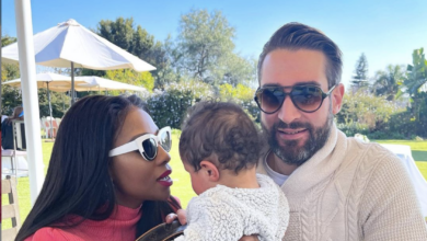 Photo of Pic! Pearl Modiadie Gives Her Baby Daddy A Sweet Shout Out In Celebration Of His Birthday