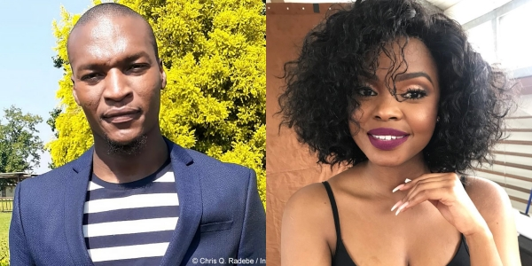 Pic! Isibaya's Chris Radebe Sparks Dating Rumours With Actress Londeka Mcunu