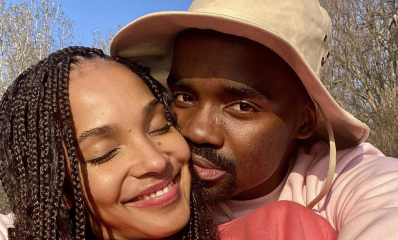 Pic! Liesl Laurie Gives An Update On Her And Husband Musa's Recovery Following Their Battle With COVID-19