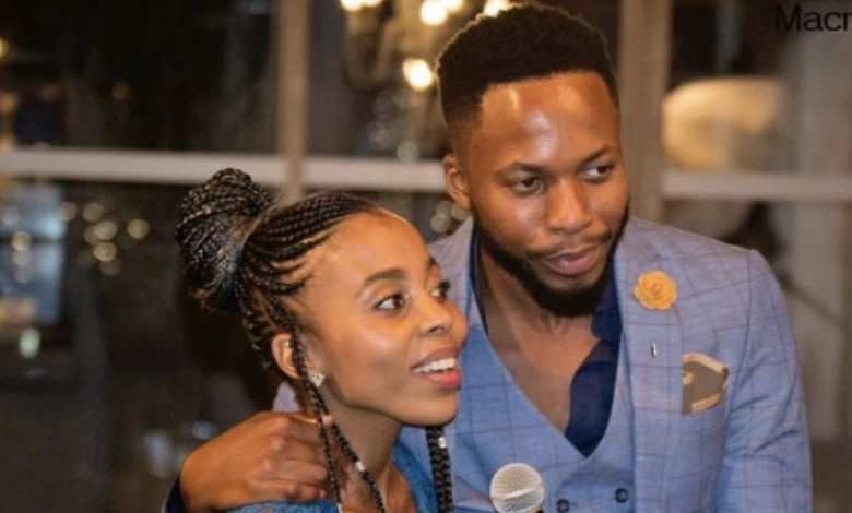 Watch! Nay Maps Walks His Sister Down The Aisle On Her Wedding Day