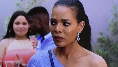 Watch! Connie Ferguson Returns To The Queen Mzansi Set