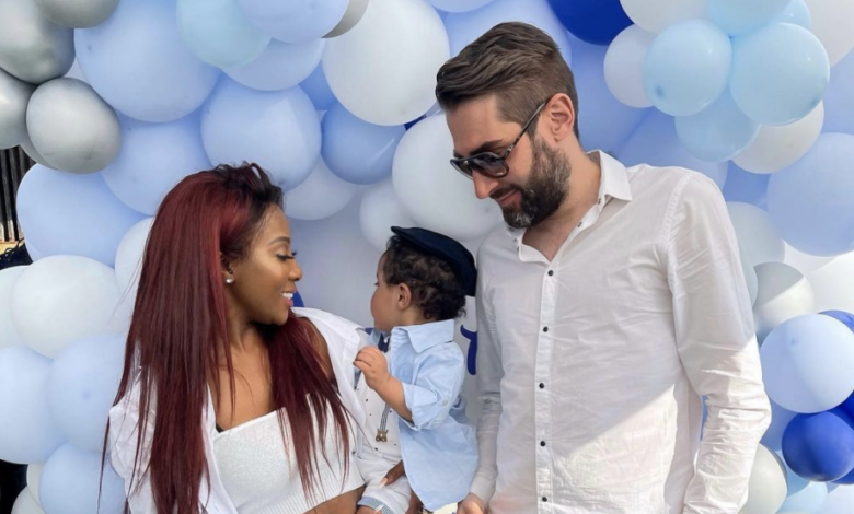 Watch! Inside Pearl Modiadie's Son Lewatle's First Birthday Party