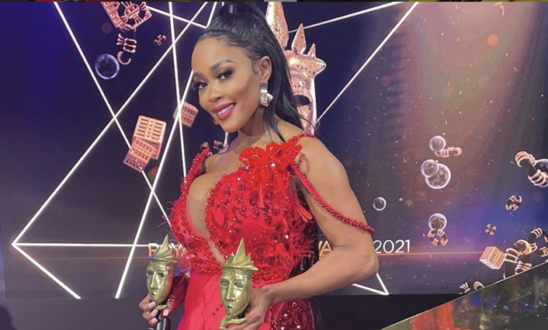 Pics! 5 SA Celebs Who Stunned In Red At The 2021 Royalty Soapie Awards